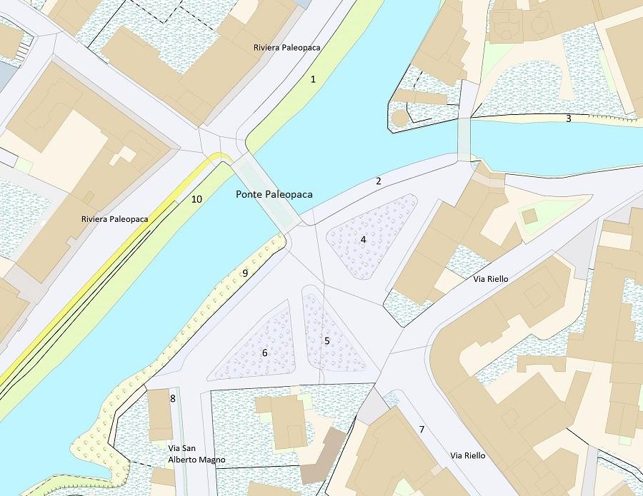 Mappa Comune Padova