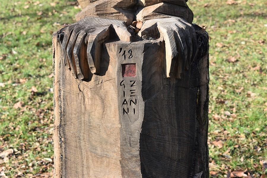 scultura arborea 2